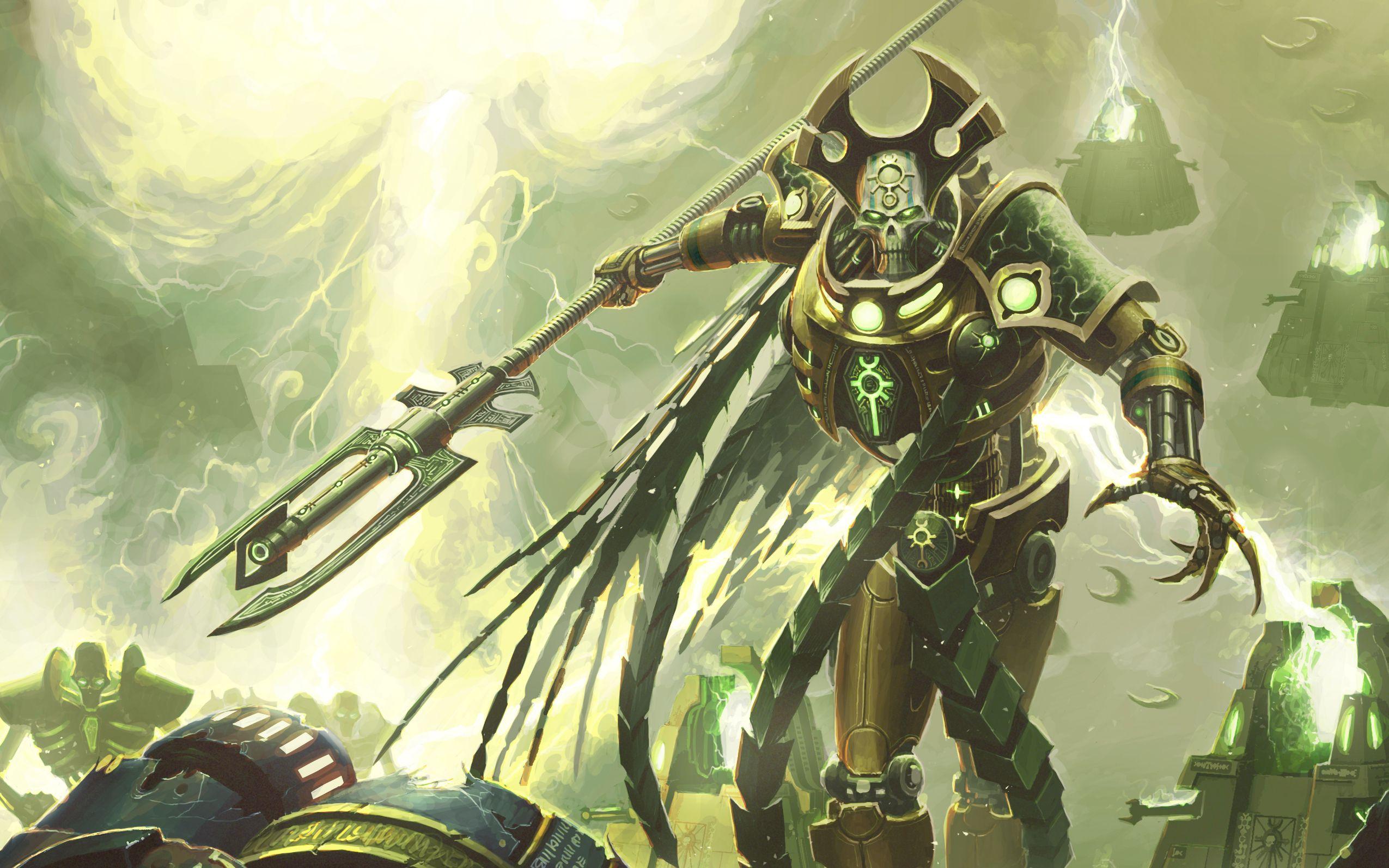 Necron Lord Hd Warhammer Warhammer 40k Necrons Warhammer 40k
