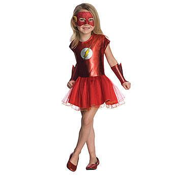 Flash Girl Toddler Costume for maddie! Cute.. But she ...