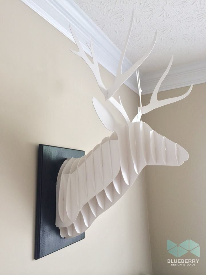 diy cardboard deer head diy pinterest diy diy cardboard and
