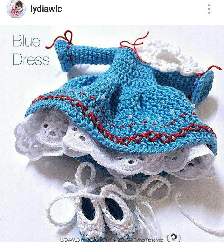 Vestido muñeca parte 2 técnica amigurumi paso a paso | Muñeca ... | 778x720