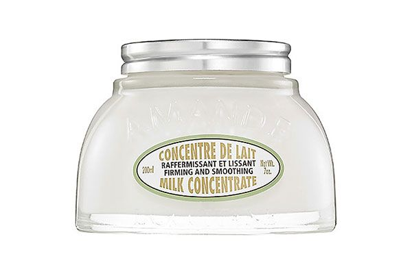 Milk Beauty: It Does A Body Good #refinery29  http://www.refinery29.com/milk-dairy-beauty-benefits#slide7  Prefer almond milk? This concentrated body cream brings soft skin to a whole new level. L'Occitane Almond Milk Concentrate, $49 at L'Occitane.