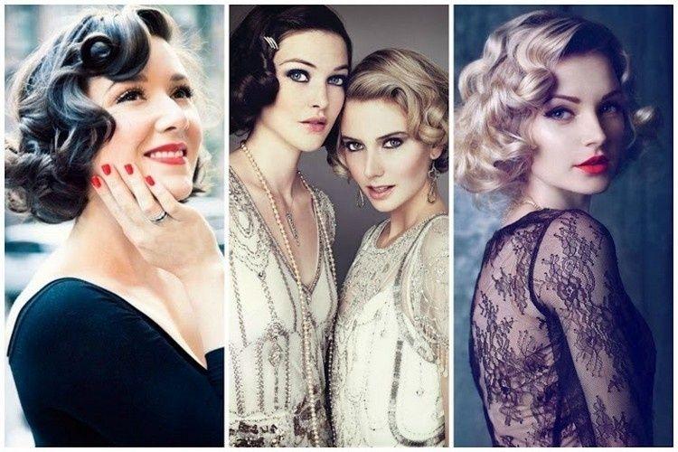 Frauen Frisur 30er Jahre Frisuren Hair Styles Trendy Hairstyles