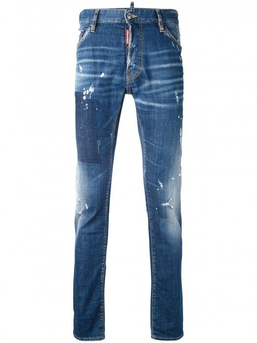2dcbe565 Dsquared2 Distressed Cool Guy Jeans Blue Men #men #fashion #jeans  #blackfriday #gifts #style #lifestyle #streetwear