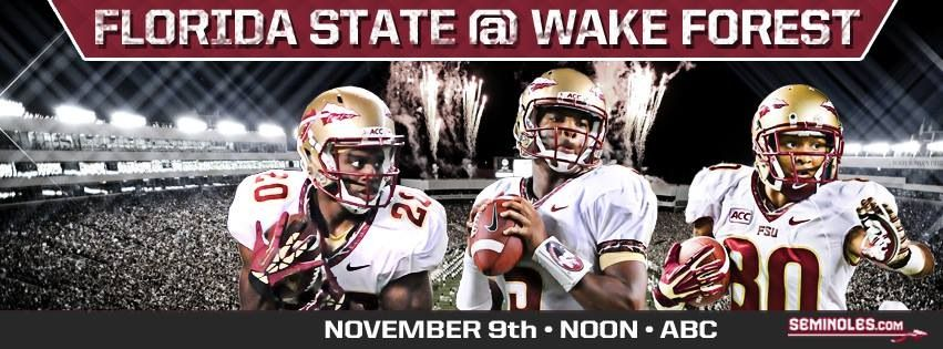 FSU.  Gameday.  Let's do this