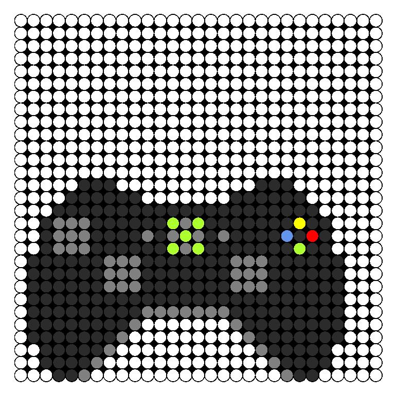 Xbox controller perler bead pattern sprites misc