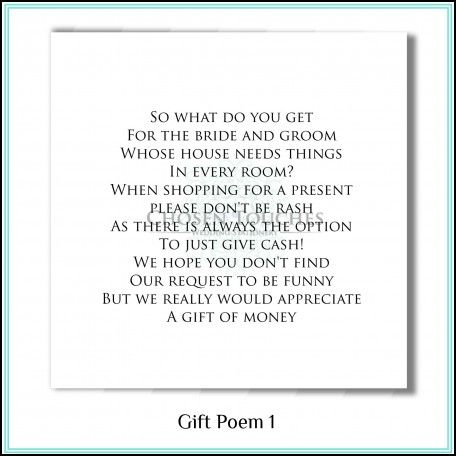 Wedding Invite Money Poem Ideas Pinterest And Weddings