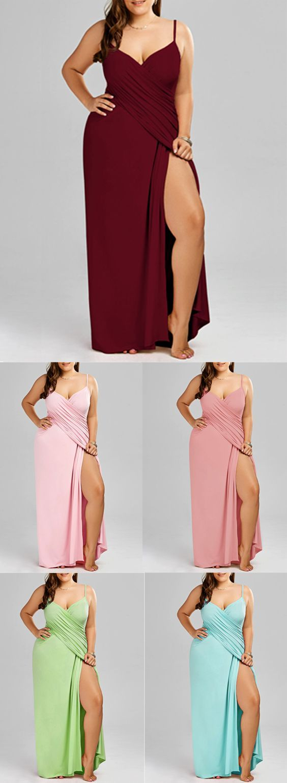 e59ac3cecd Plus Size Maxi Flowy Beach Cover Up Wrap Dress