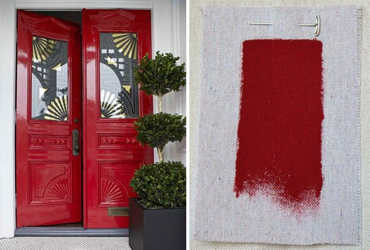 Nice The 8 Best Red Exterior House Paints: Remodelista Ben Moore Heritage Red