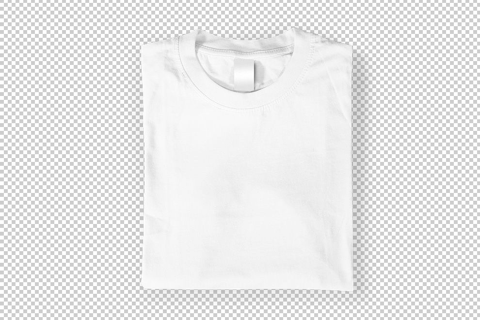 Download Folded T Shirt Top View Mockup Generator Plain White T Shirt T Shirt Folding T Shirt
