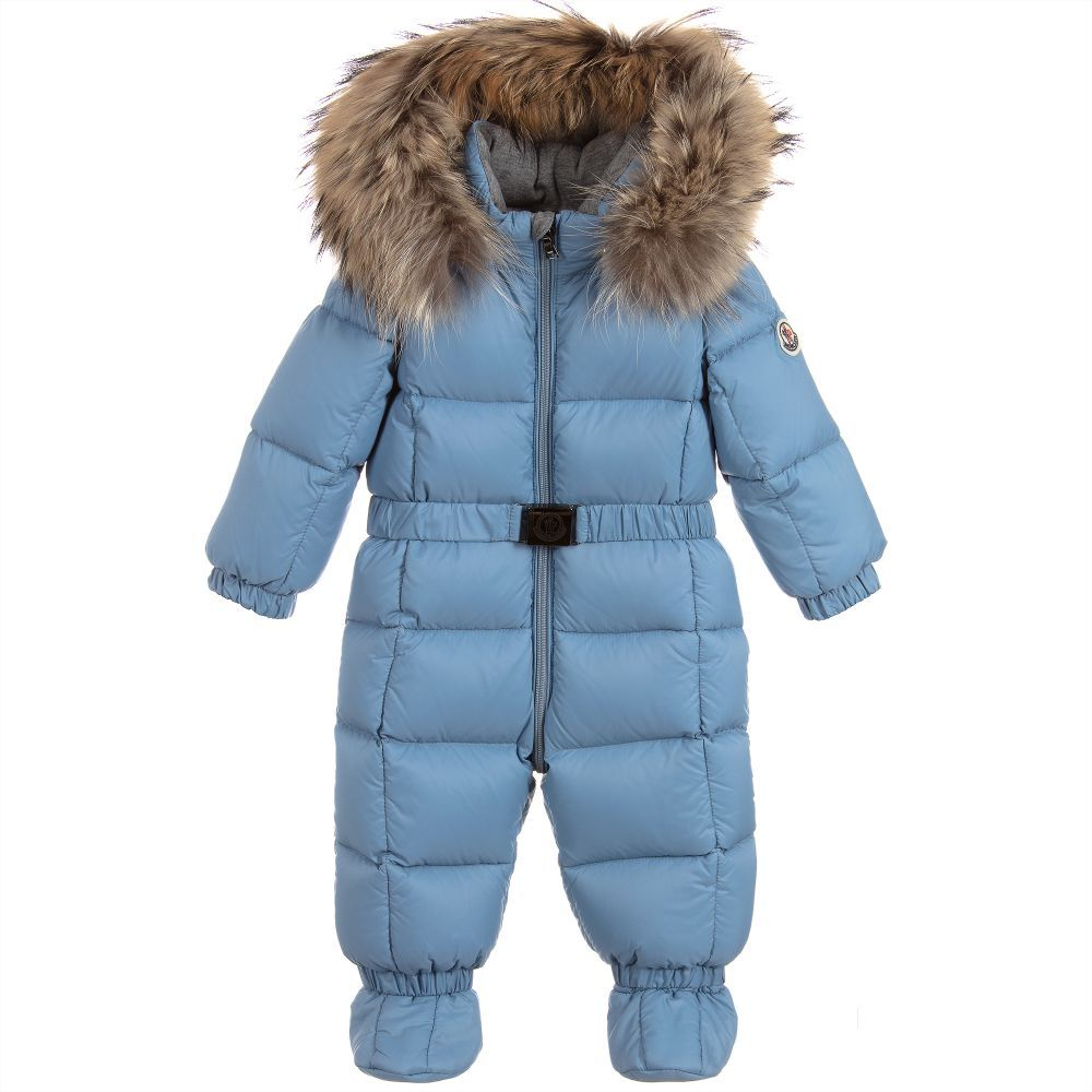 b0e299050659 NEW JEAN Down Baby Snowsuit