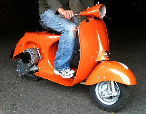 Modern Vespa Would You Convert A Clic To Electric