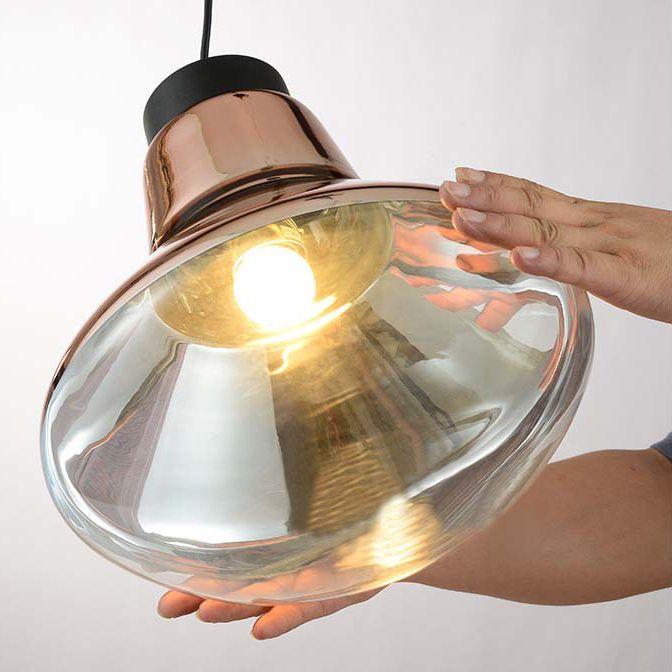 Aliexpress Com Tom Dixon Schlag Licht Kupfer Pendelleuchte Suspension Leuchte Von Verlasslichen Hangende Lichter Liefer Spiegelglas Anhanger Lampen Tom Dixon
