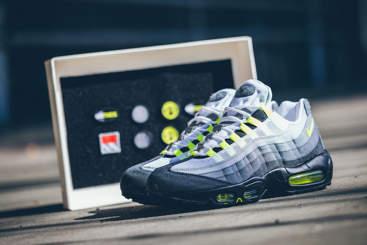 "Nike Air Max 95 Patch ""Neon"" (Detailed Pictures & Release Info)"