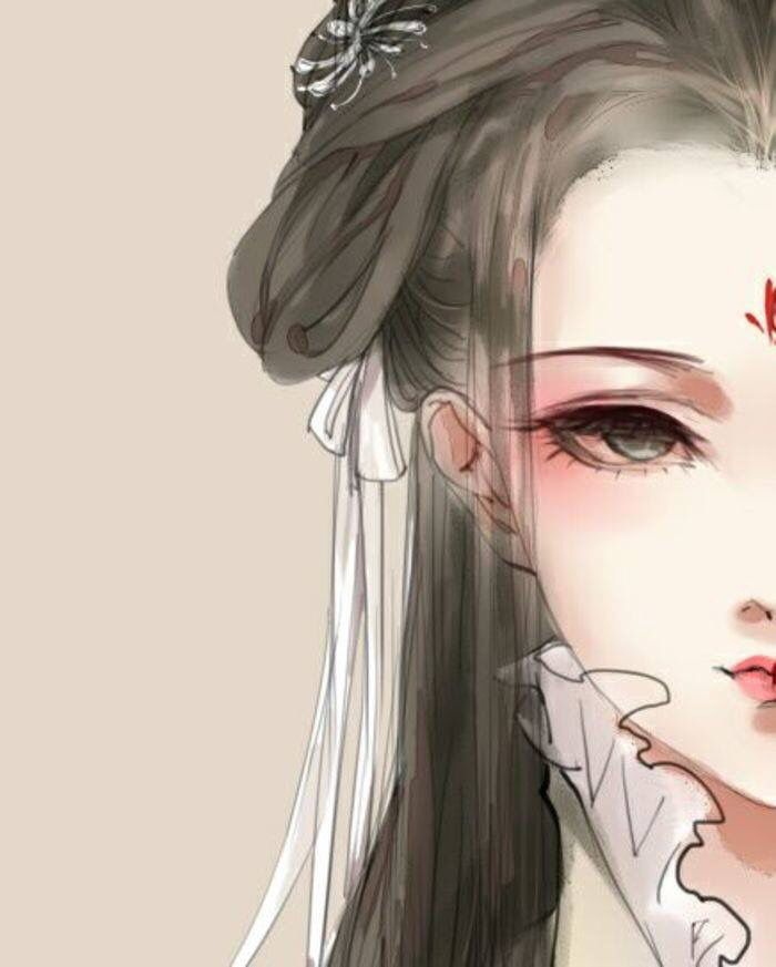 Chinese Hairstyles Anime Art Manga Drawing Characters Painting Girl Paintings Ancient