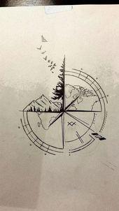 Photo of ▷ 1001 + idées pour un tatouage de boussole beau et significatif 65 idées pour un b …