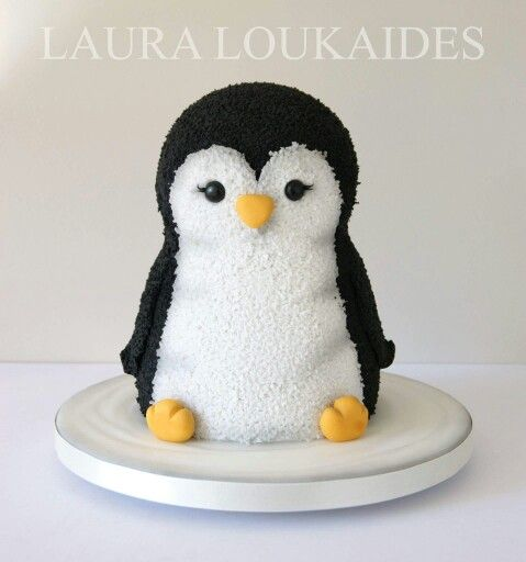 Penguin Cake | Christm...