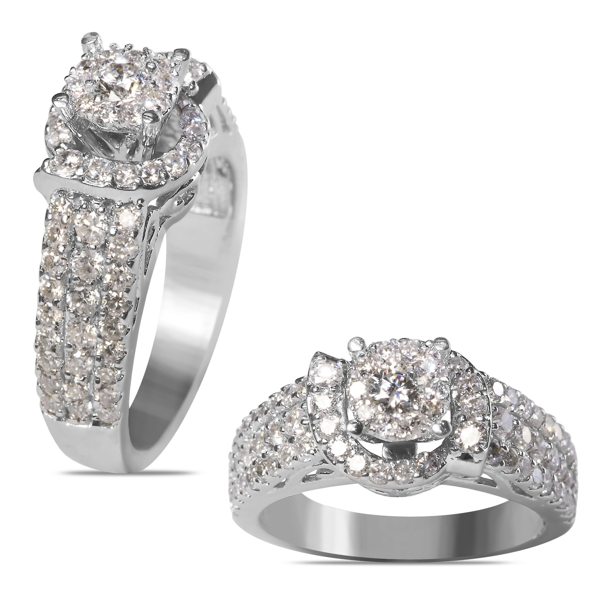 Ebay NissoniJewelry presents La s 1 1 2CT White Diamonds