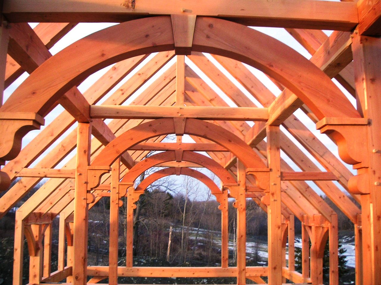 arch barn frame for sale - Google Search | Home | Roof