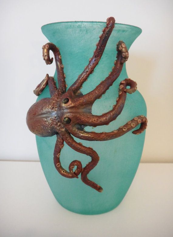 Octopus Vase My Original Creations Perfectly Twisted Creations