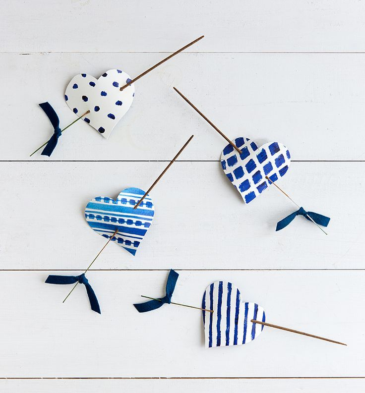 We worked with designer Sarah Contrucci Smith to create these fun incense party favors. Inspired by her indigo-and-cream textile designs at…