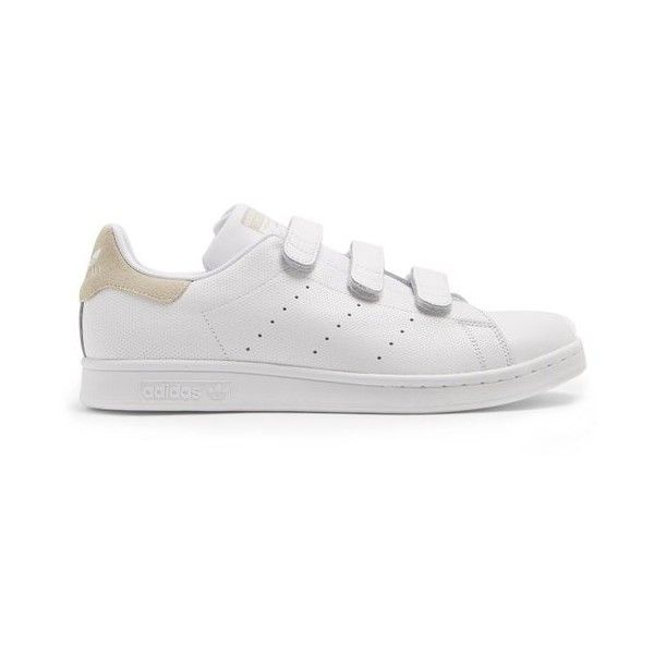 Mens velcro shoes, White leather shoes