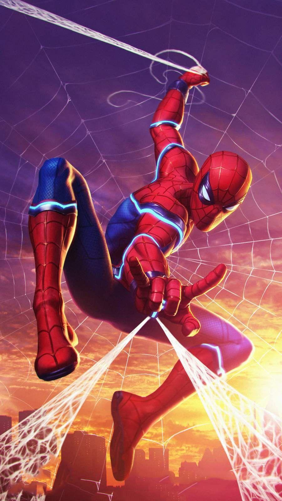 Future Spiderman Iphone Wallpaper Marvel Spiderman Art Spiderman Spiderman Pictures