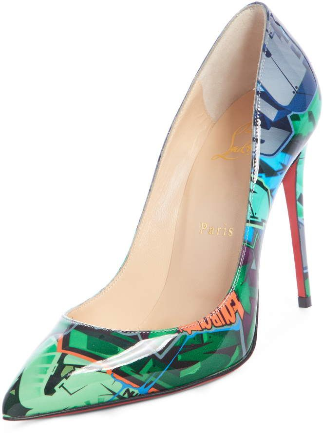 low priced 2d0d5 dfed2 Christian Louboutin Pigalle Follies Graffiti Pump | Products ...