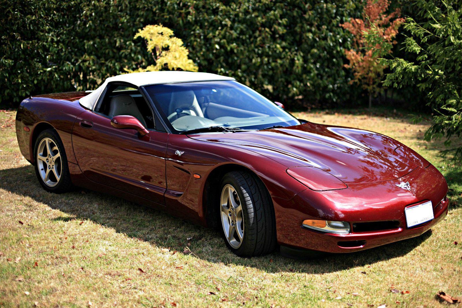 50th Anniversary Edition C5 Corvette Convertible Corvette Convertible Corvette Chevrolet Corvette
