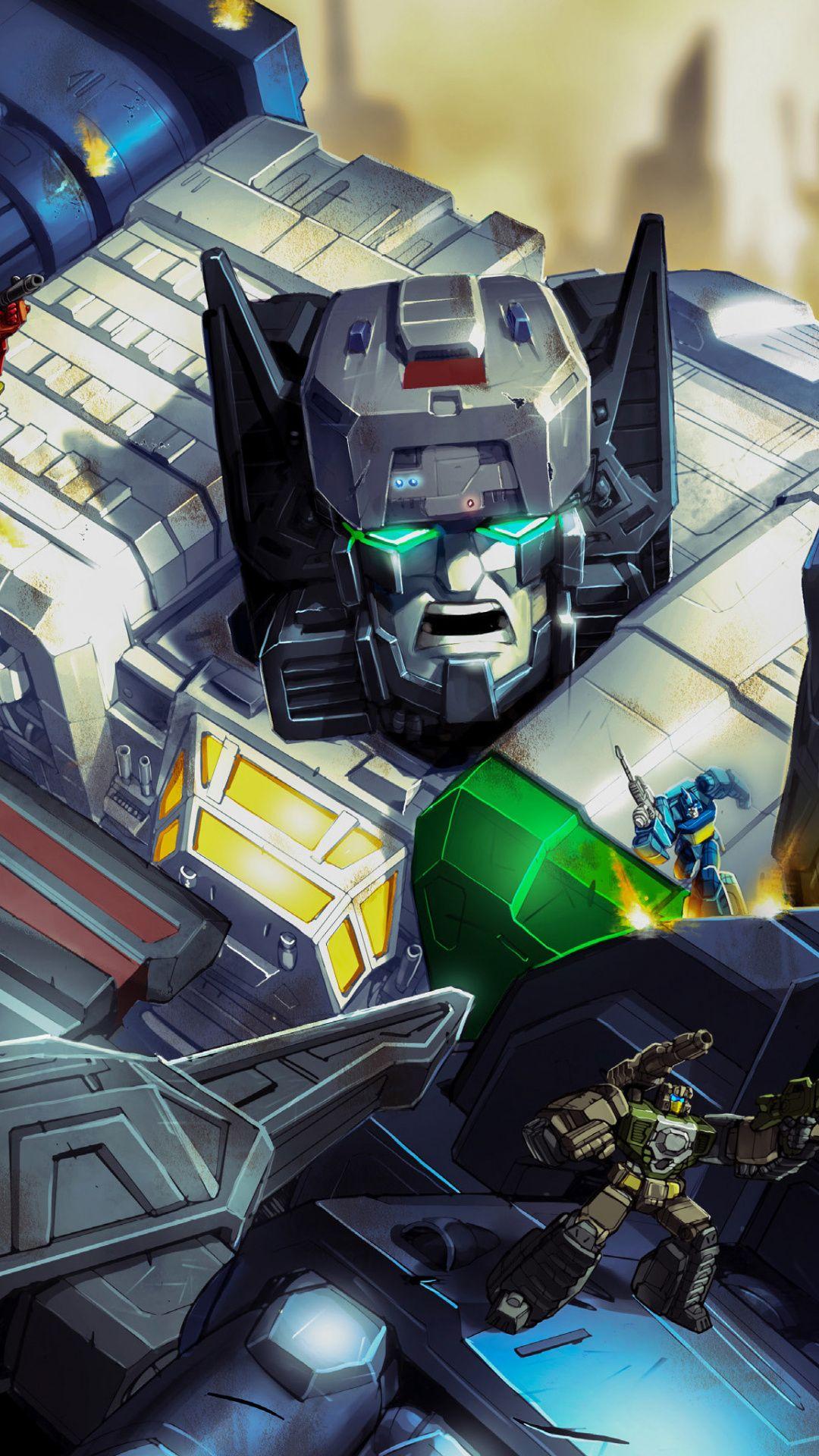 Fortress maximus transformers titans return animated tv