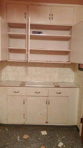 Bathroom cabinet will be repurposed into dual sink vanity