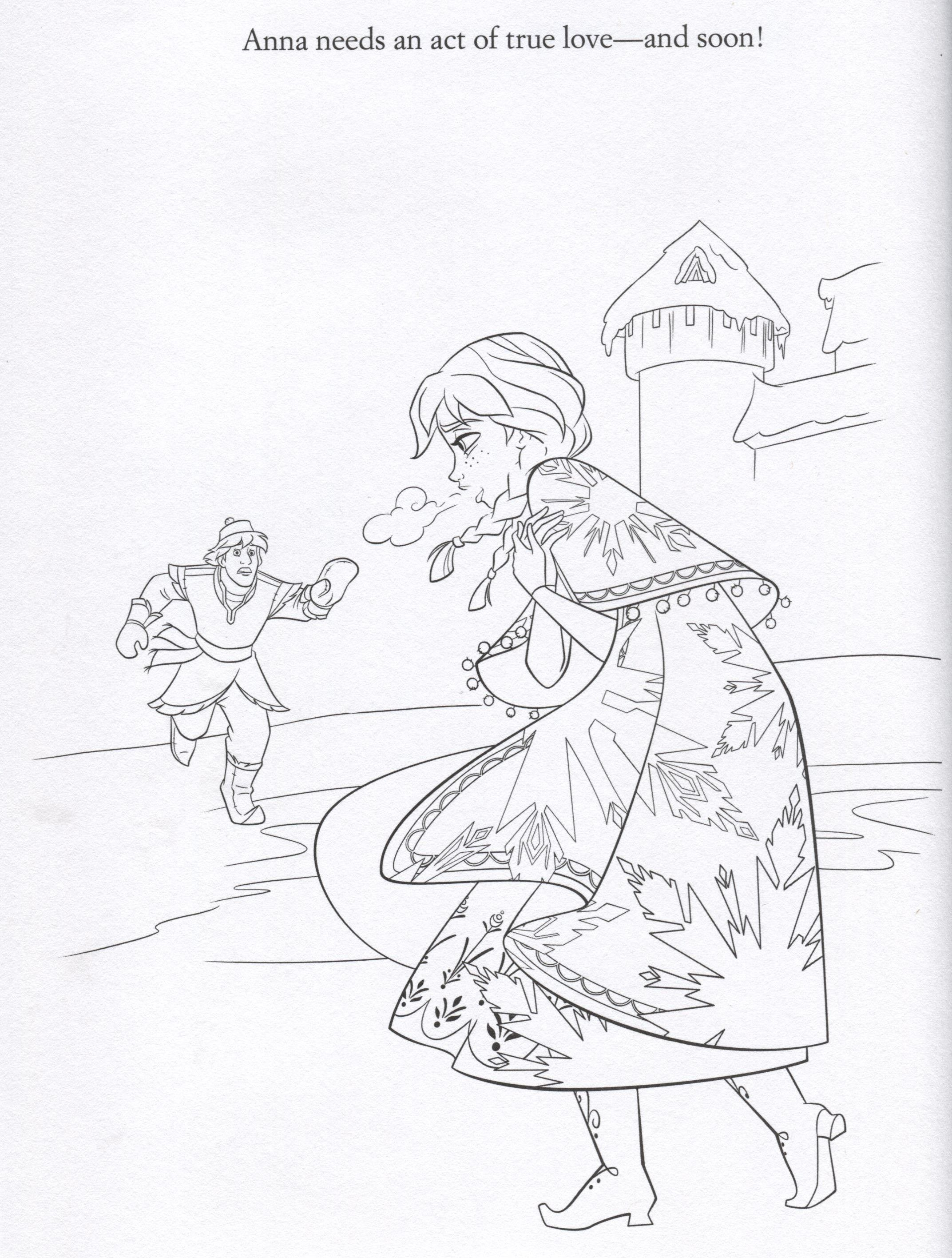 Frozen coloring pages fanpop - Disney Frozen Coloring Sheets Official Frozen Illustrations Coloring Pages Frozen Photo