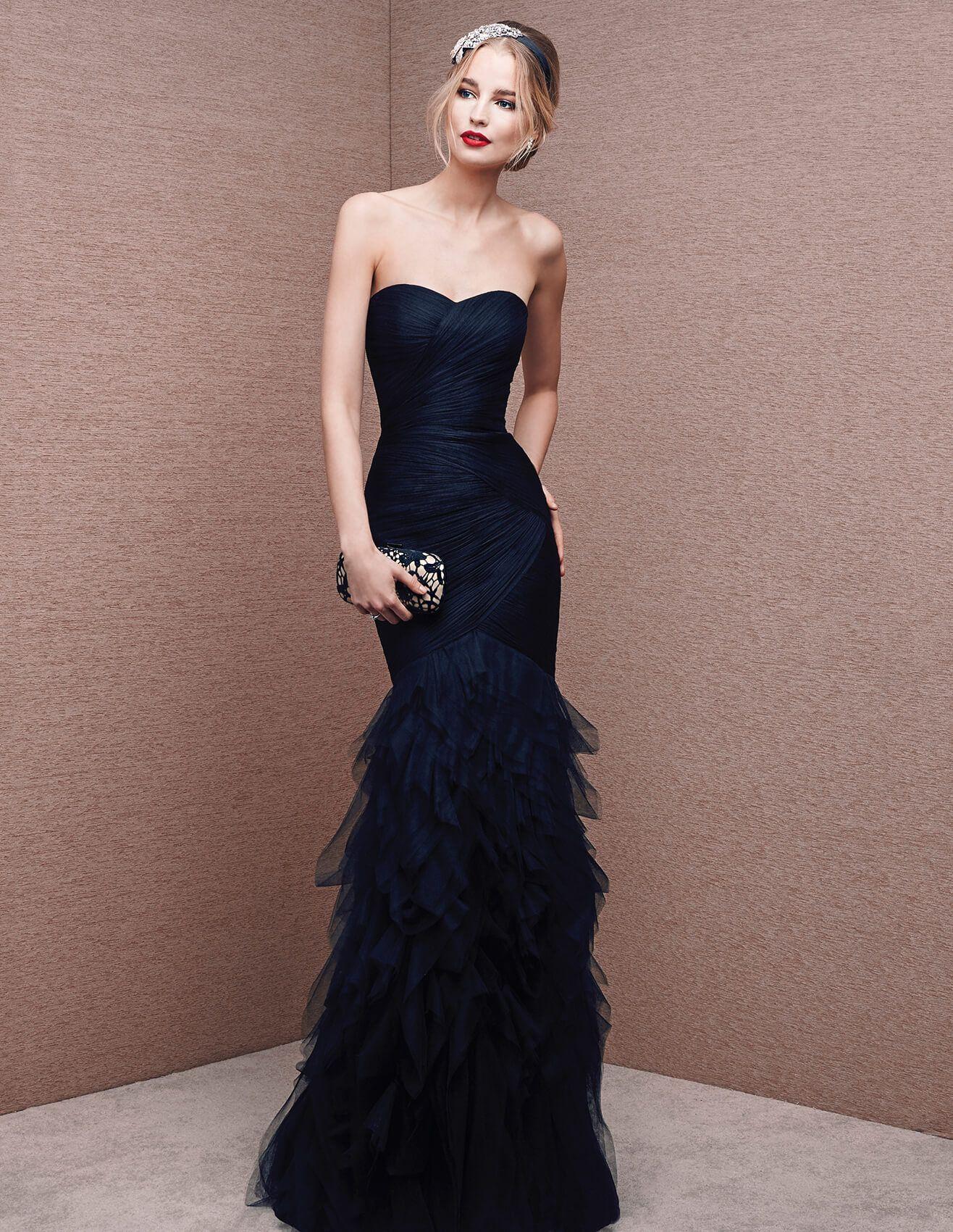 Brian black lurex dress
