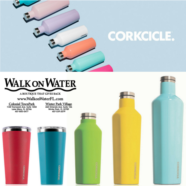 New #Corkcicle colors for Spring are so fun!  #WalkOnWaterBoutiques