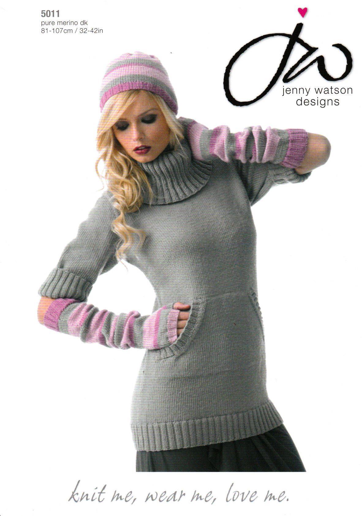 Jenny Watson Cowl Neck Sweater Dress Fingerless Gloves Hat Knitting Pattern By Threadbaregifts On Etsy Cowl Neck Sweater Dress Knitting Wool Jenny Watson [ 1681 x 1182 Pixel ]