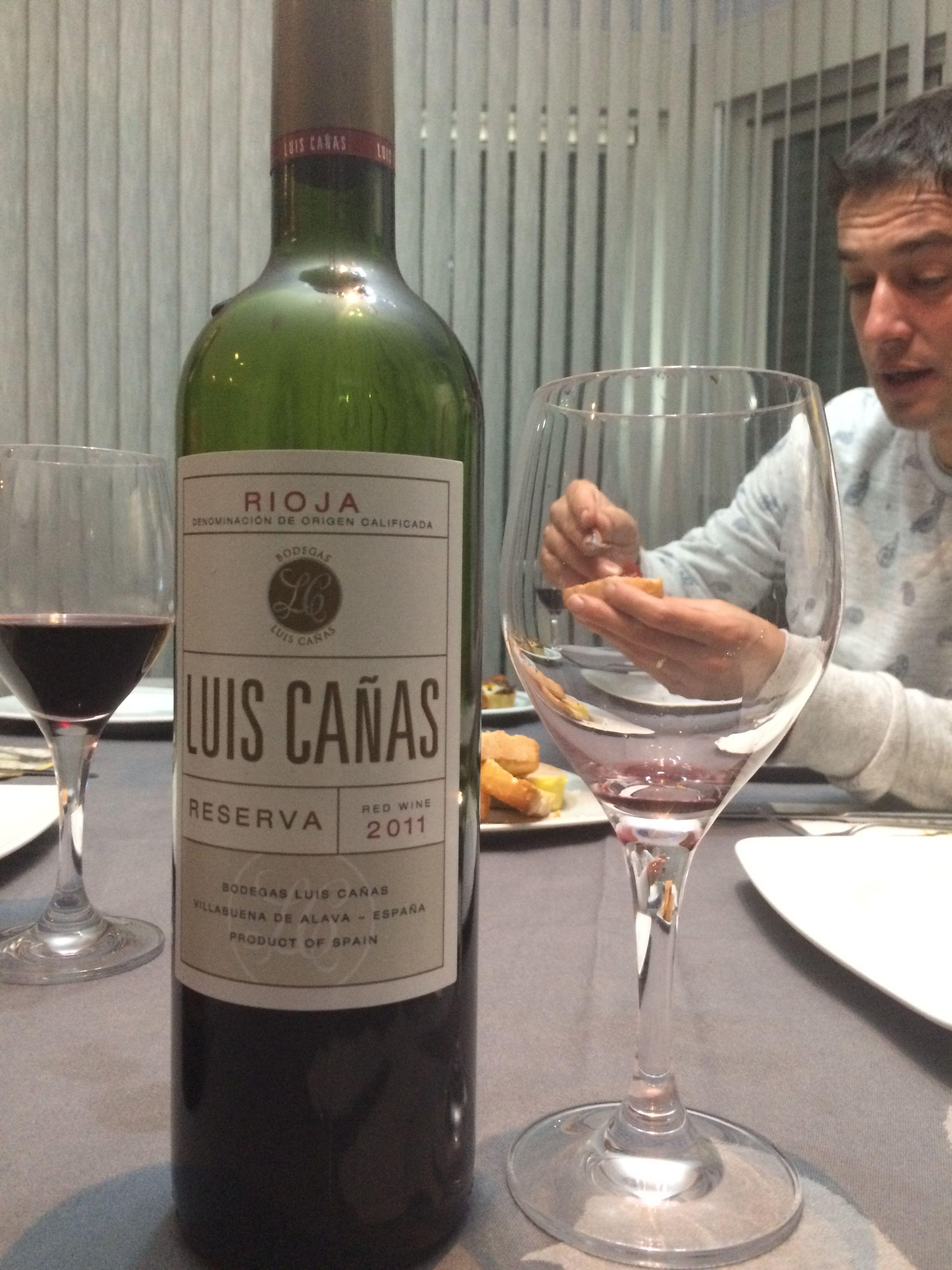 Luis Cañas Reserva 2011 Canas