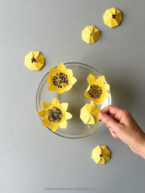 Sonnenblumen  die zauberhafte Variante  Kinder  Blumen