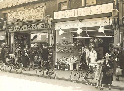 Mac Fisheries Regent Street Swindon C1945 Swindon Vintage Photography Swindon Wiltshire Country Roads Take Me Home