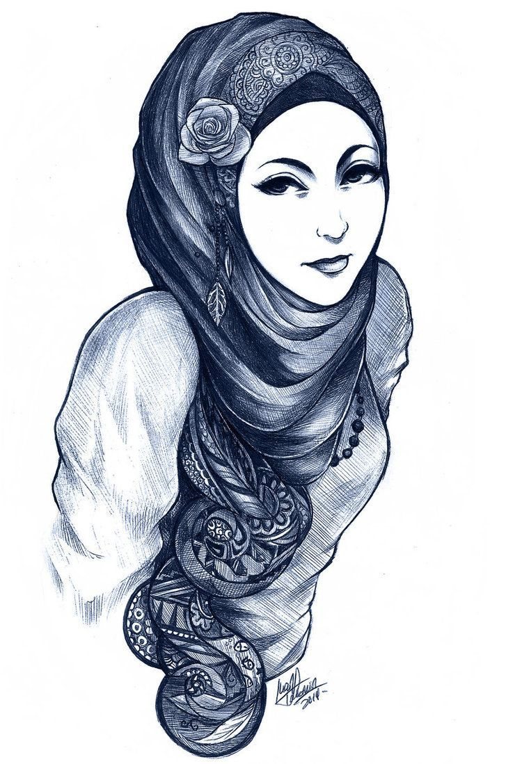Pin by marina blue on beautiful anime pinterest hijab drawing anime muslimah and art