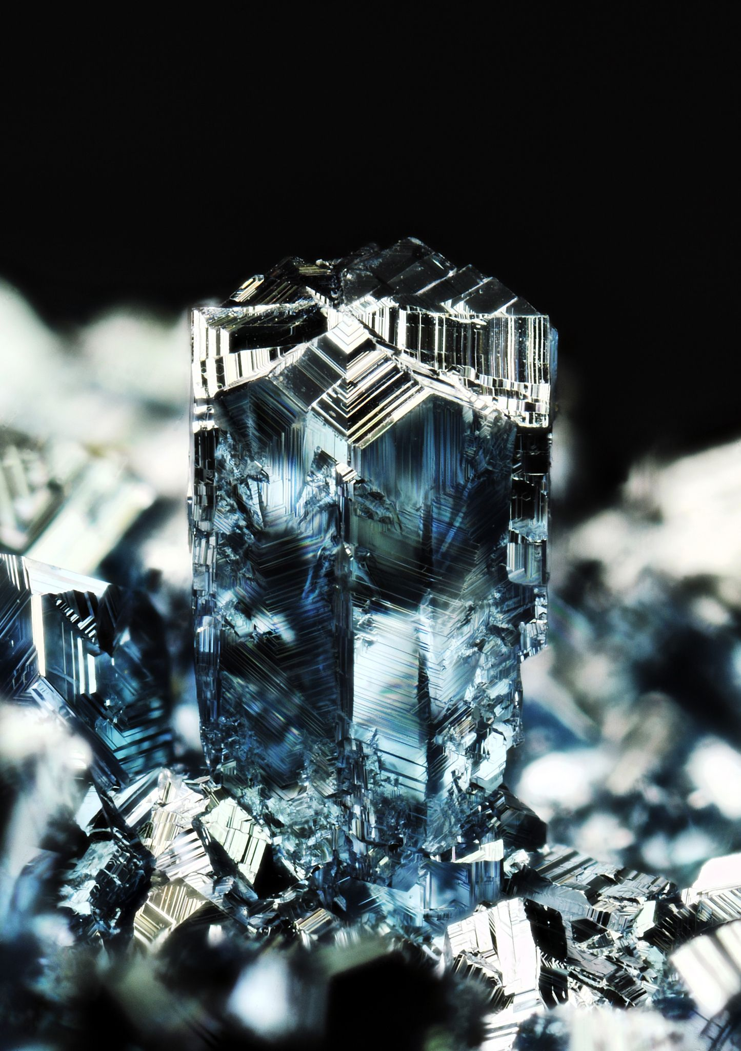 Osmium crystals the most heaviest metal osmium is blue osmium crystals the most heaviest metal osmium is blue metallic chemical element gamestrikefo Image collections