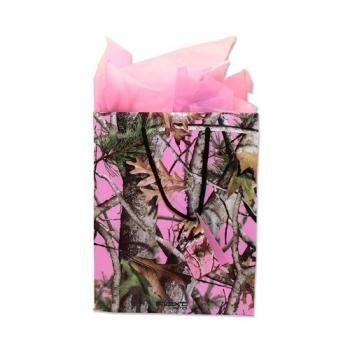 pink camo gift bag for the women your love womens giftbag camo christmas gifts wrapping pink 776