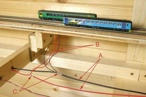 Rr train track wiring the basics of power bus wiring on an n block wiring for model railroads model train wiring for dummies Railroad Train Diagram on wiring model railroad track