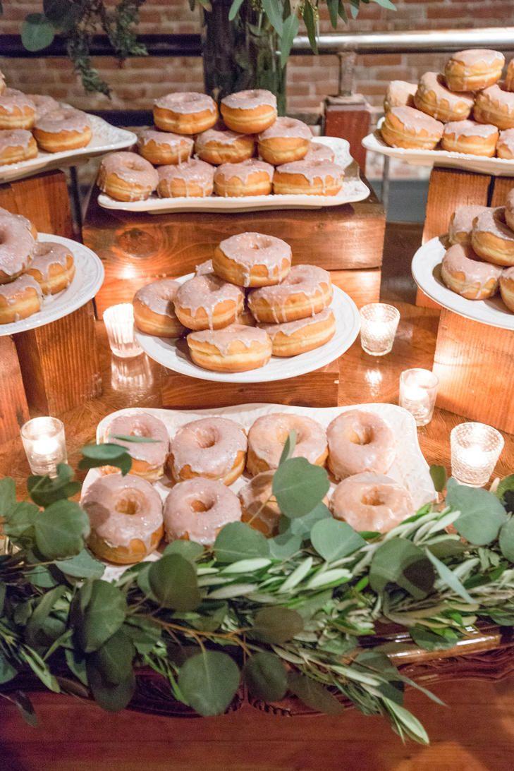 Donut Display Dessert Buffet Wedding Wedding Donuts