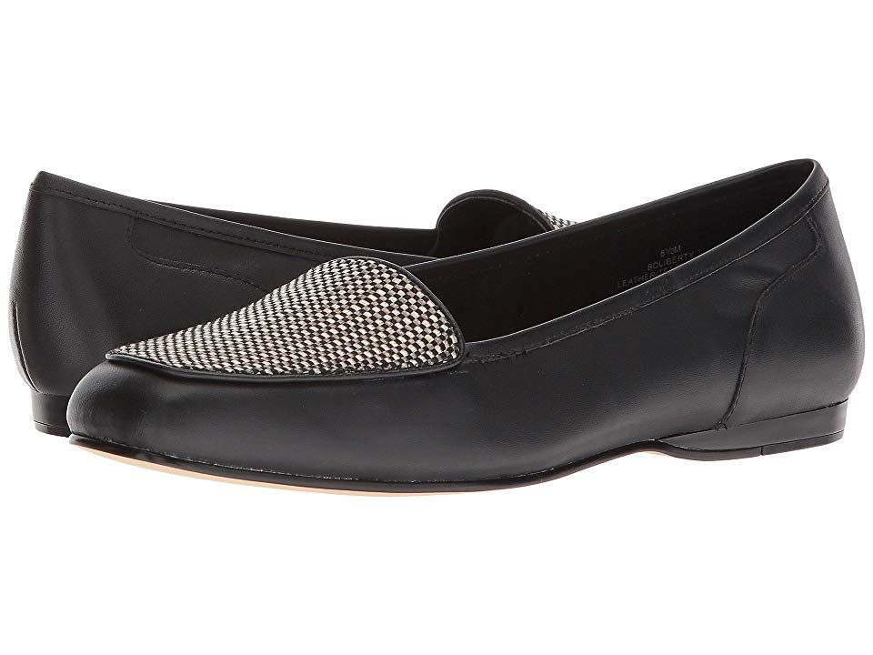 6481181256 Bandolino Liberty (Black Multi Leather) Women s Slip on Shoes. Accentuate  your carefree spirit