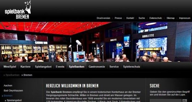 Westspiel Casino Bremen Permanenzen