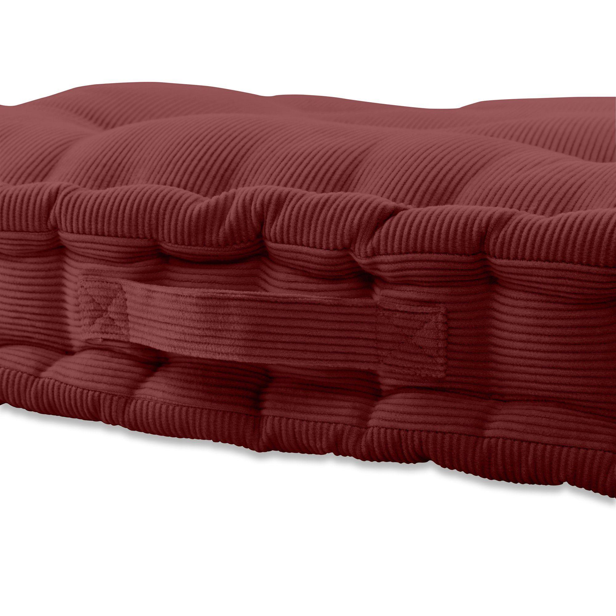 9ca30ce6f04a0b34ba78b30cf2e5abf1 - Better Homes And Gardens Tufted Wicker Settee Cushion