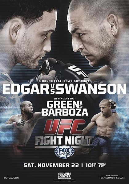 File Ufn 57 Event Poster Jpg Wikipedia The Free Encyclopedia Ufc Fight Night Ufc Ufc Events