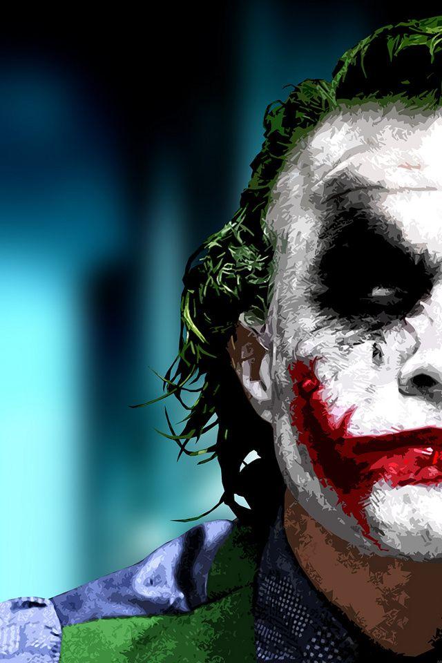 Wanna Do This In Watercolor And Ink Joker Iphone Wallpaper Joker Images Joker Face Iphone joker gotham wallpaper