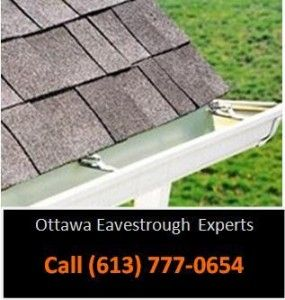Eavestrough Installation Ottawa How To Install Gutters Cleaning Gutters Gutter