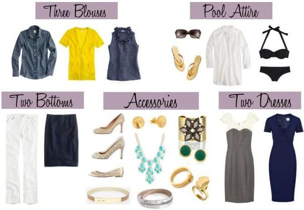 Capitol Hill Style - Capitol Hill Style - Three Ways: The Summer Packing List