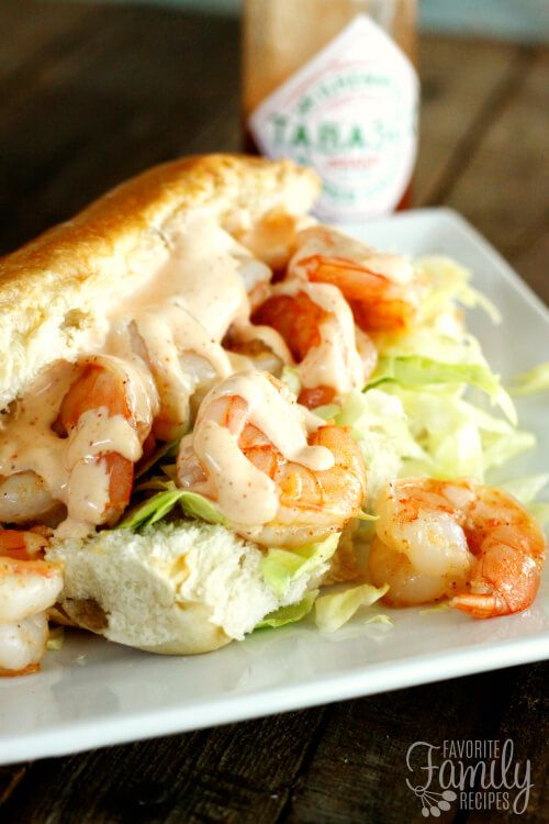 recipe: sauteed shrimp po boy recipe [31]